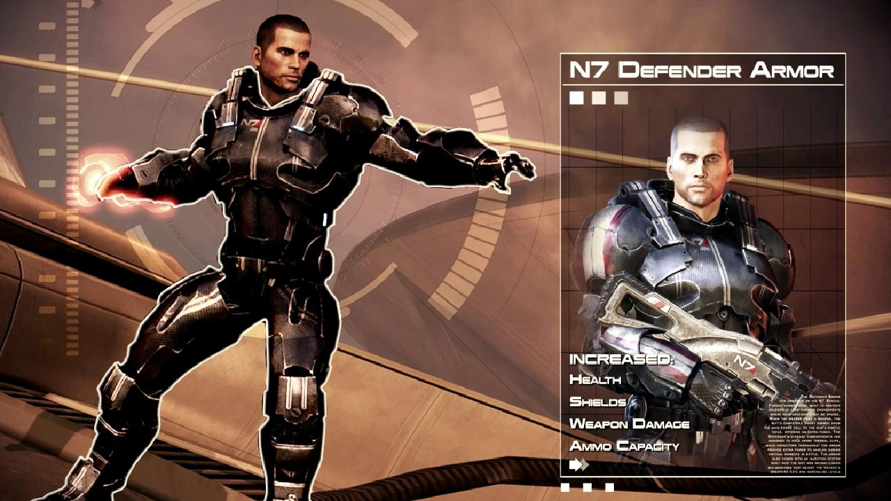 Take A Look At The Guns And Gear That You'll Get For Pre-Ordering Mass Effect 3