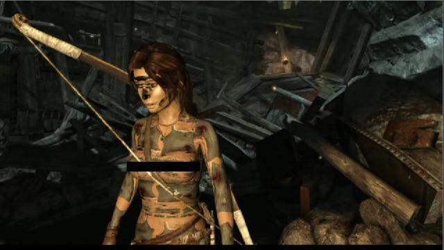 Tomb Raider Glitch Makes Lara Croft Look Practically Topless [NSFW]