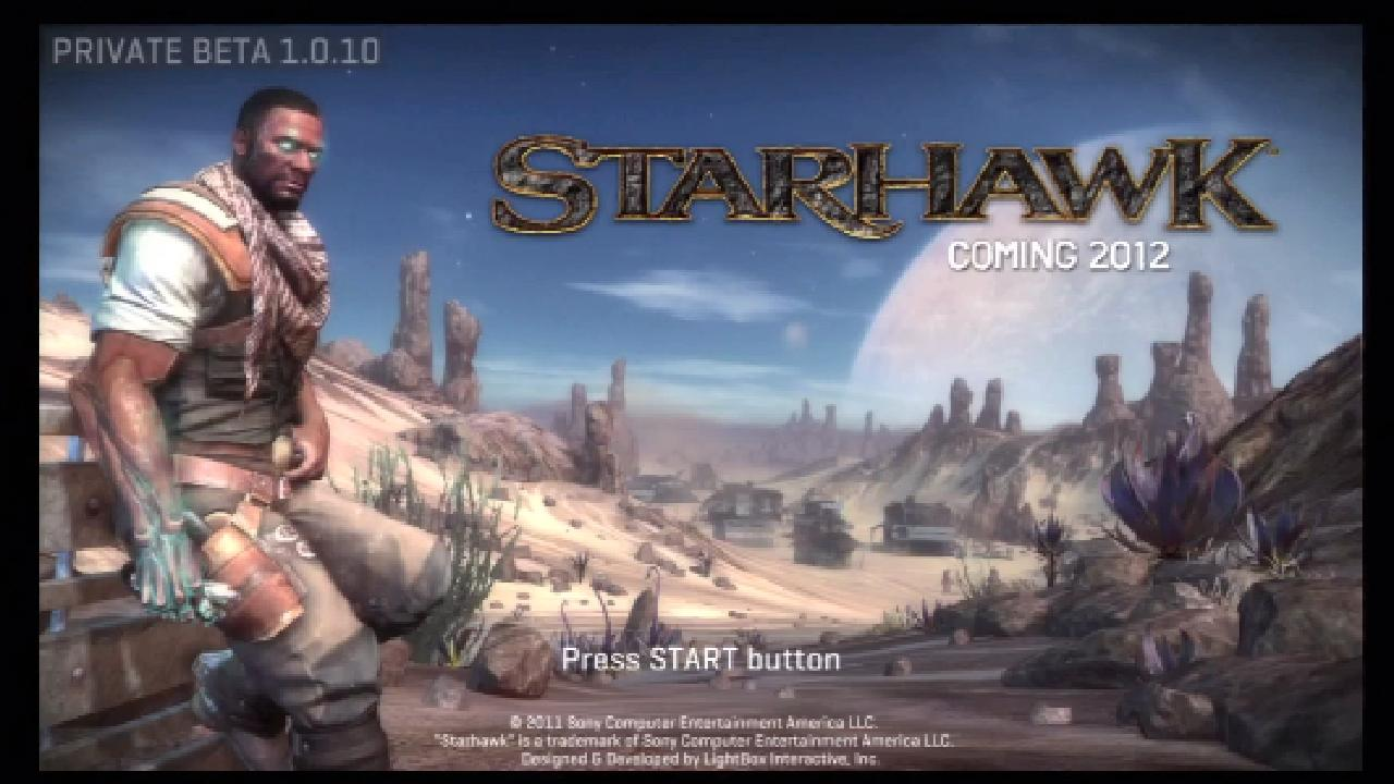 Mechs, Jets And Beams Shine In Starhawk Beta