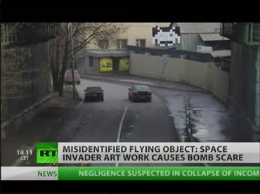 Russian Police Mistakes Space Invader For Bomb