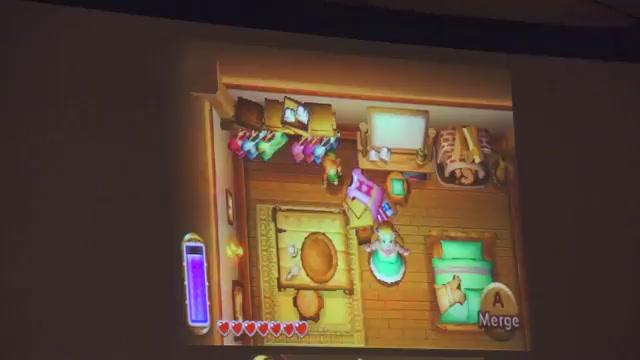 Eight Minutes Of Lovely Zelda: Link Between Worlds Gameplay