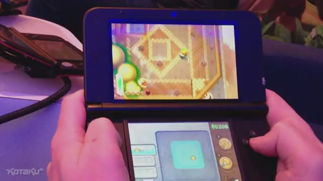This Is What A Boss Battle In The New Zelda 3DS Looks Like