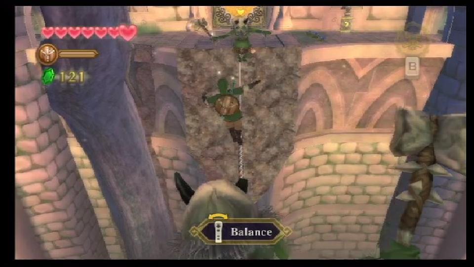 30 Seconds Of Skyward Sword: Link's Indiana Jones Moment