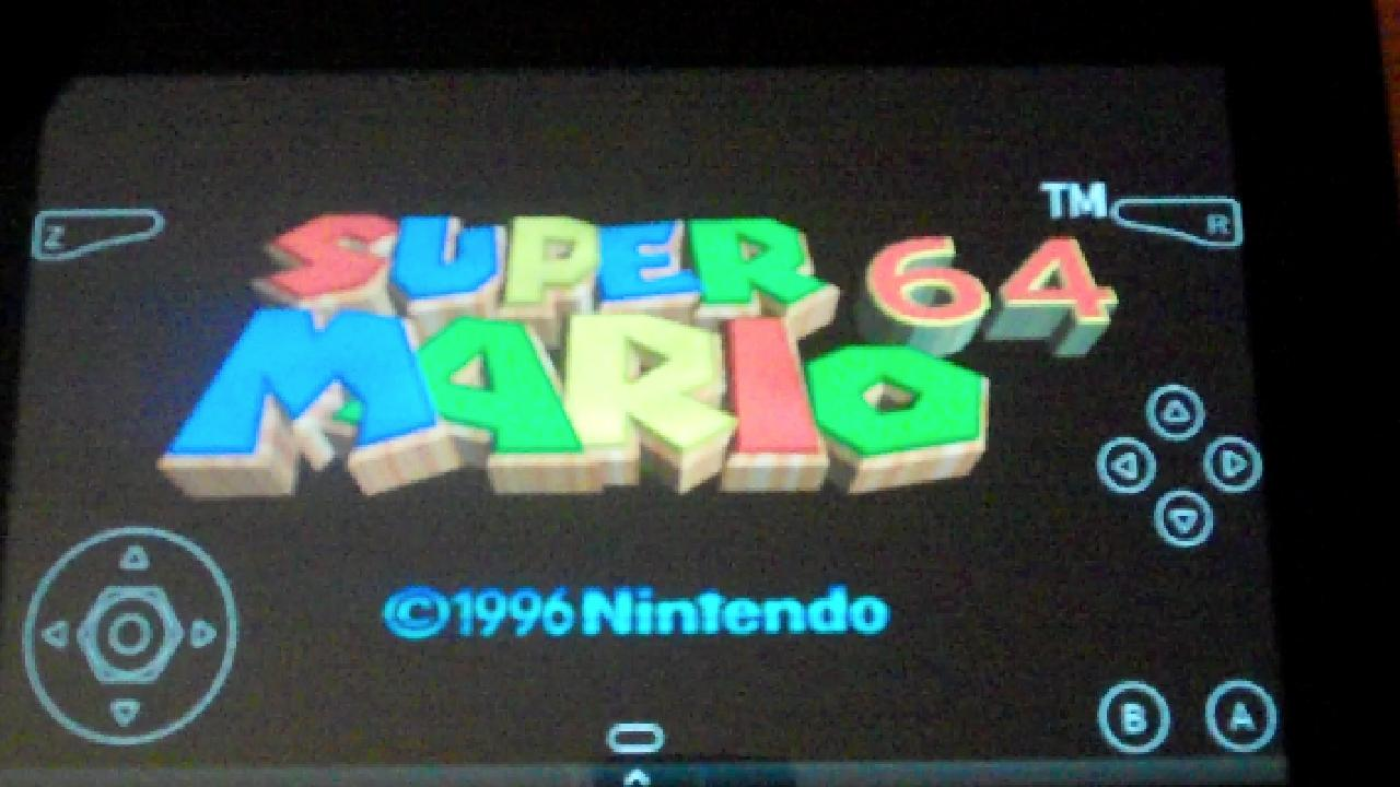 Super Mario 64 And Ocarina Of Time Run Great On The Kindle Fire