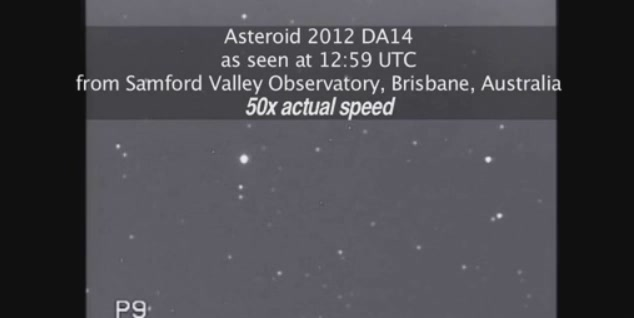 The Asteroid Comes And Goes