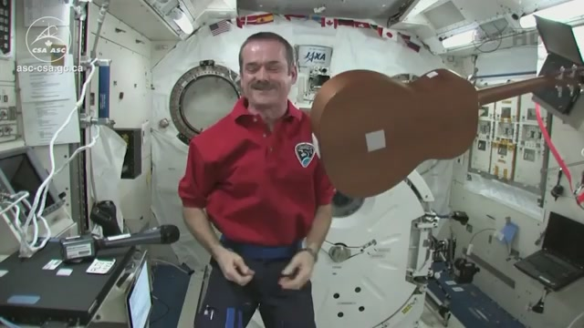 A Supercut Of All Of Astronaut Chris Hadfield's Best Moments In Space
