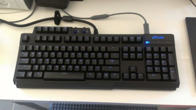 This Might Be Your Next Gaming Keyboard. If You Like Blue.