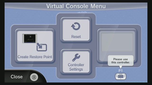 Wii U's Virtual Console Has Customisable Controllers And 'Restore Points'