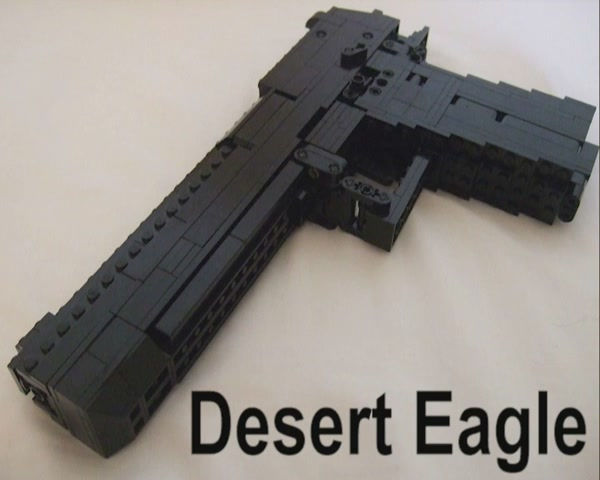 This Isn't Gun Porn. It's LEGO Gun Porn You Can Make.
