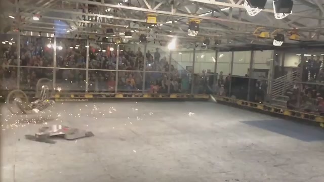 Watch This Fighting Robot Die In Agonising Slow Motion