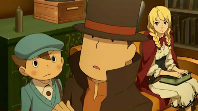 Check Out Professor Layton Vs. Ace Attorney's Heart-Pounding Intro Movie