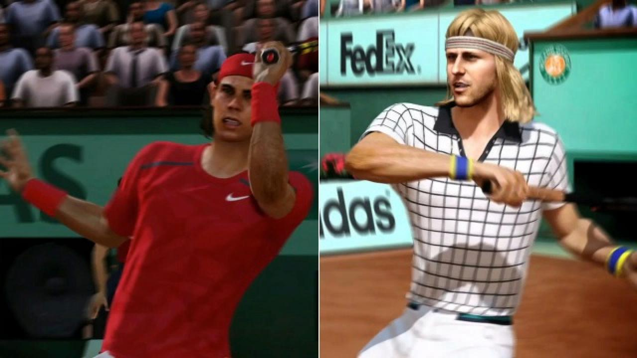 It's A Battle Of The Headbands In This New Grand Slam Tennis 2 Trailer