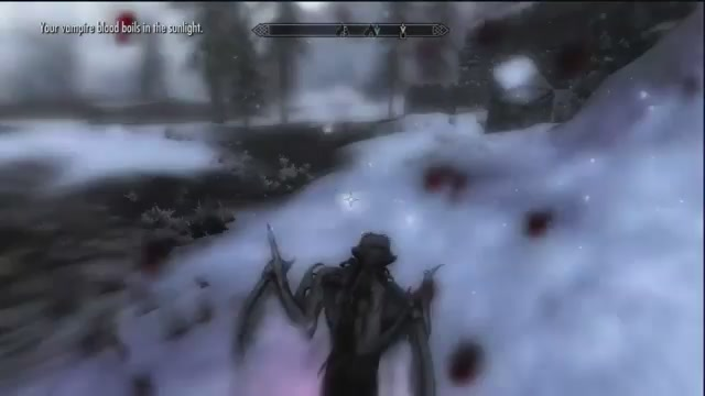 Watch Me Turn Into A Swarm Of Bats And Rip People Apart In Skyrim: Dawnguard
