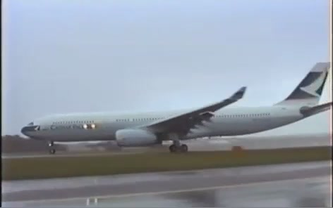 Watch This Airbus A330 Stop Midair