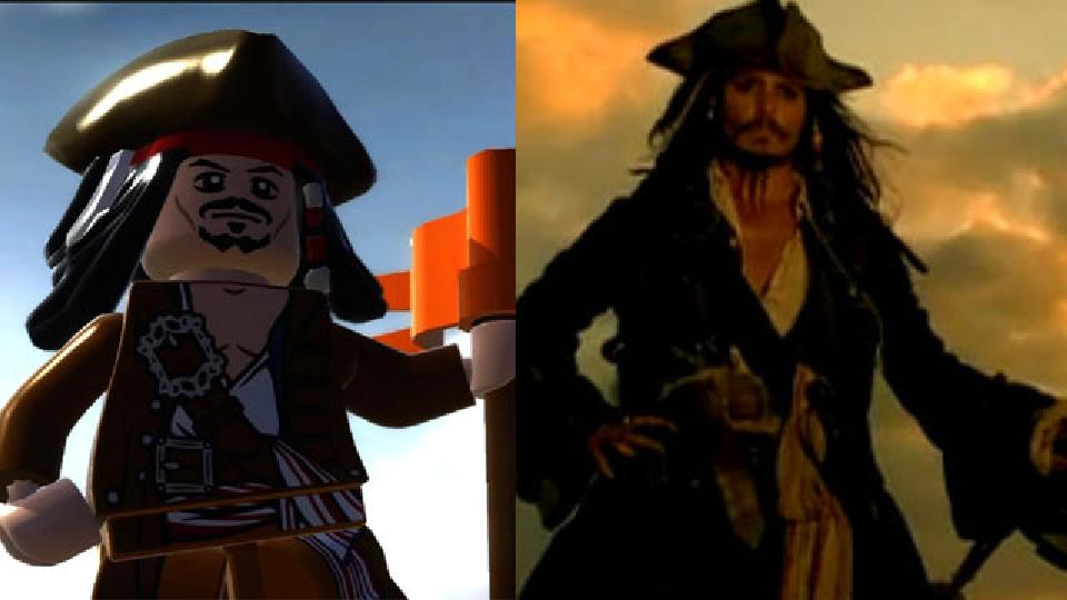 This Is Johnny Depp's Jack Sparrow As A LEGO Pirate