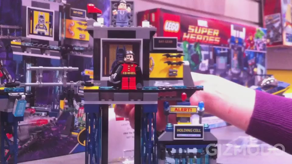 Watch Lego Bruce Wayne Transform Into Batman