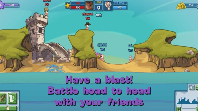 Worms Facebook Is Now In Closed Beta