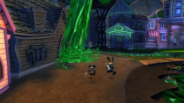 Here's How  Epic Mickey 2 Will Look On The Xbox 360