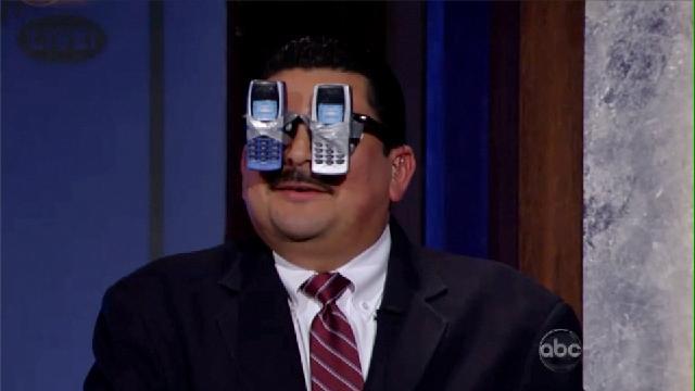 Jimmy Kimmel Joins The Google Glasses Mockery Parade