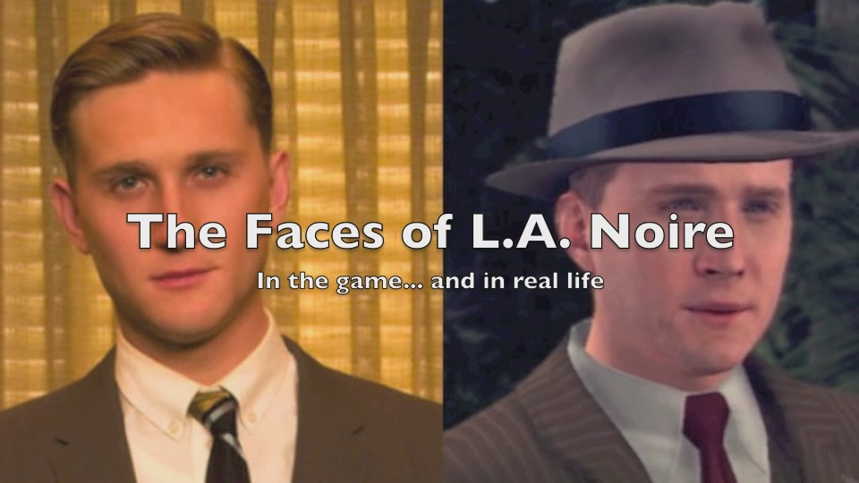 See How L.A. Noire Does Justice To The Faces Of Real TV Stars