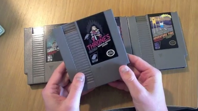 Get A Load Of This Super-Hot Game Of Thrones NES Game Cartridge