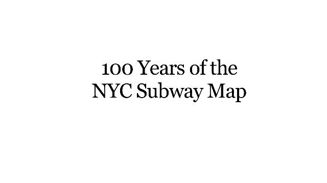 The Evolution Of The NYC Subway Map