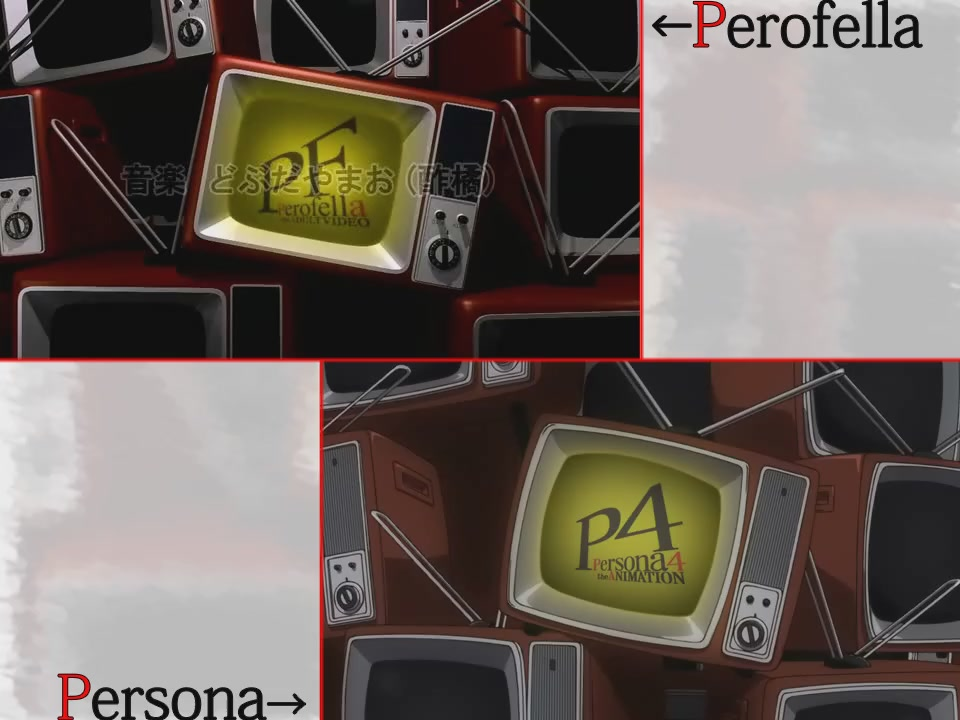 How Does The Persona Porno Opening Match Up With The One In The Game?