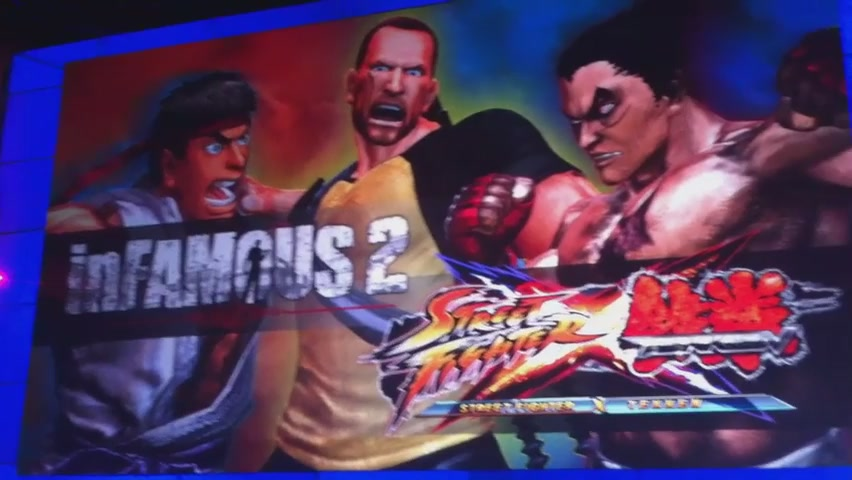 Street Fighter X Tekken X Infamous In Action