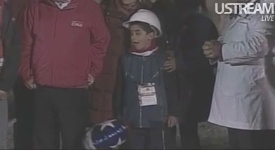 Video: First Of 33 Chilean Miners Has Been Rescued Successfully
