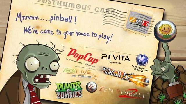Plants Vs. Zombies Comes To Zen's Pinball Suites Next Week