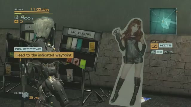 You Can't Cut Pin-Up Girls In Metal Gear Rising: Revengeance. And Other Weird Stuff.