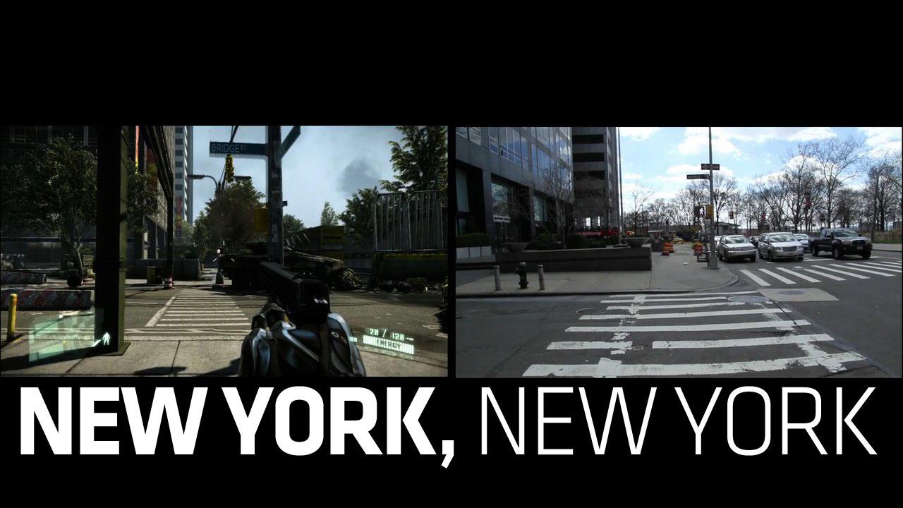 Crysis 2 Vs Real Life