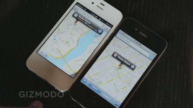 Apple Maps Vs Google Maps: A Side-By-Side Video Comparison