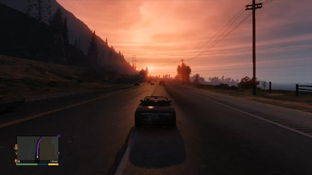 Speeding Coast To Coast Through GTA V Takes About Six  Minutes