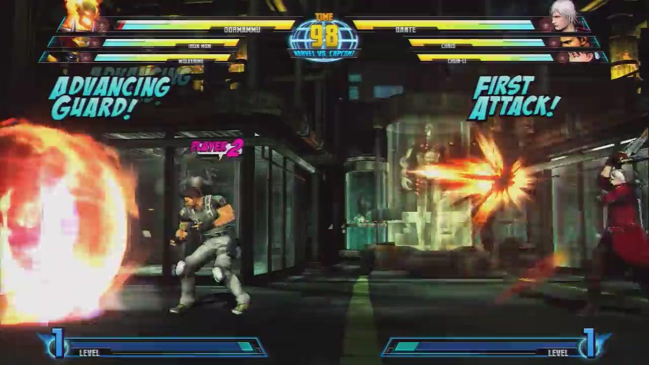 It's Joe Vs That Marvel Bad Guy In Marvel Vs Capcom 3 Footage