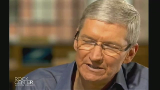 Watch Tim Cook In His First TV Interview Since Becoming Apple CEO