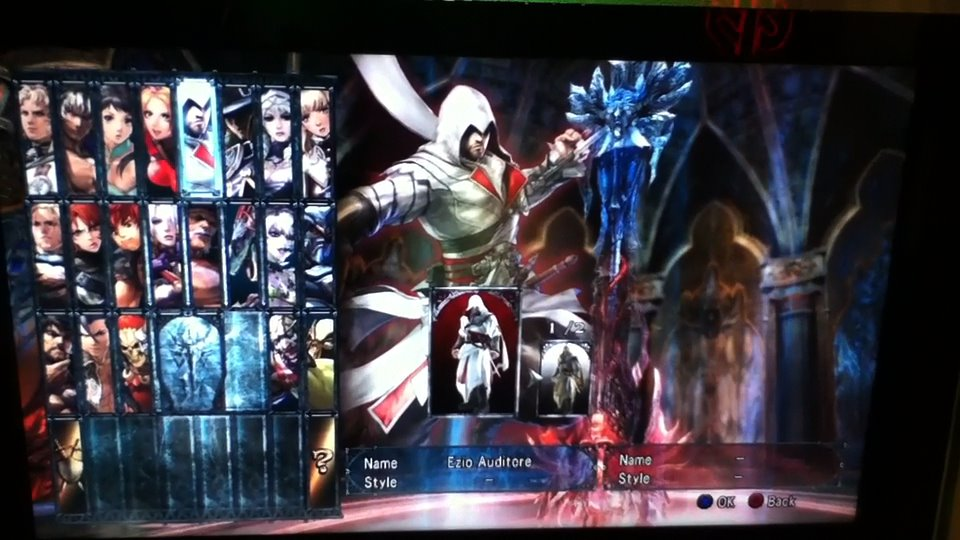 Assassin's Creed's Ezio Wields Many Weapons In Soul Calibur V