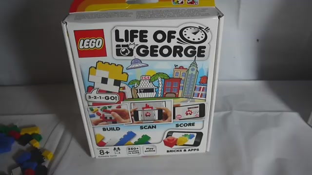 Gaming App Of The Day: Reconstruct The Life Of George From Physical Bricks