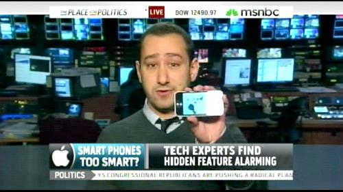 Gizmodo's Joe Brown Discusses iSpy Conspiracy On MSNBC Live