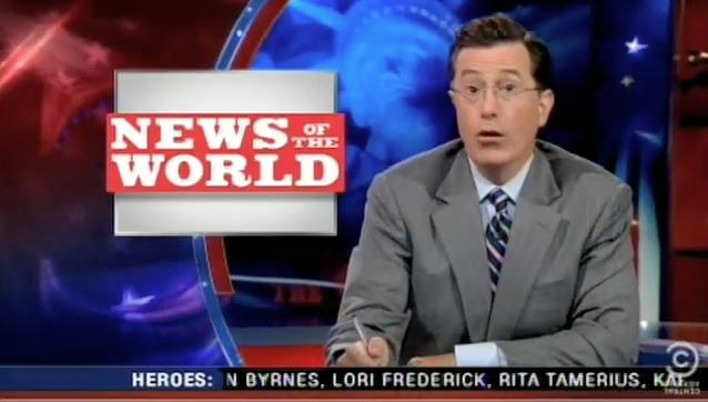 Stephen Colbert Is Really Concerned About Hacking