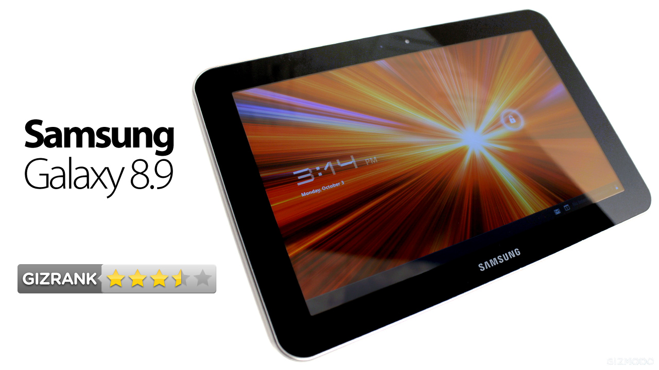 Samsung Galaxy Tab 8.9 Review: The New Best Android Tablet, Again