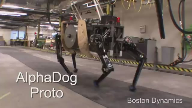 This Is The New Generation Of The Creepiest, Most Awesome Quadruped Robot Ever
