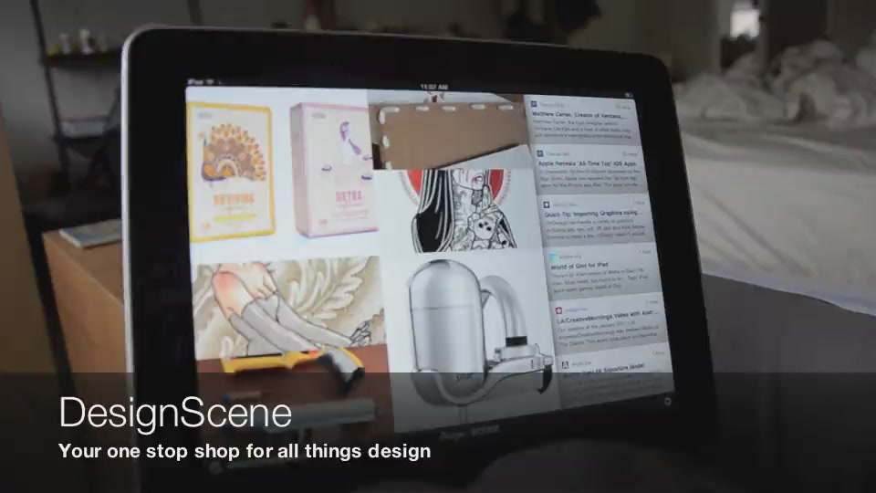 DesignScene For iPad Is The 21st Century Muse
