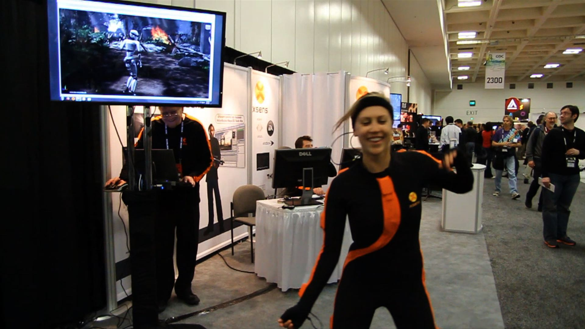 Giggle With Us Now At These Goofy Motion-Capture Demonstrations